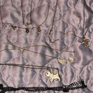 7 necklaces bundle
